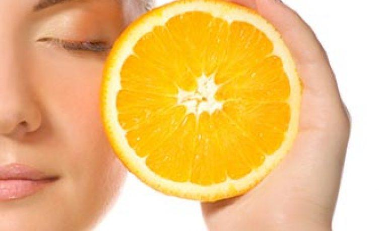 تاثیرات ویتامین C روی پوست